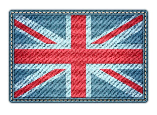 Große britische flagge