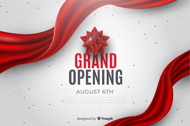 Große eröffnung