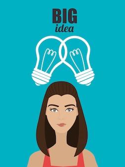 Große ideen von jungen köpfen