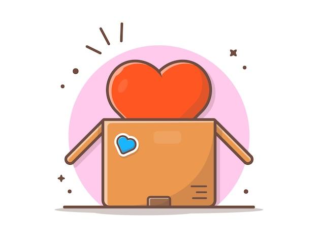 Große liebe in der box