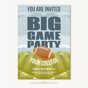 Große party für college-leichtathletik