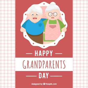 Großeltern tag gruss hintergrund