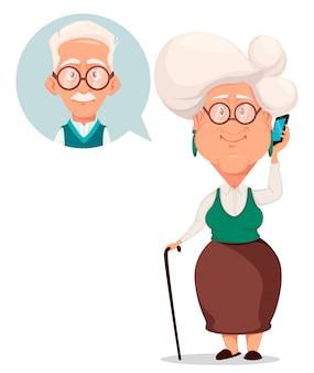 Großeltern-tagesgrußkarte