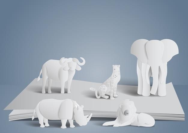 Großer fünf elefant