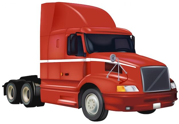 Großer rig truck