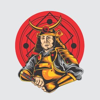 Großer samurai
