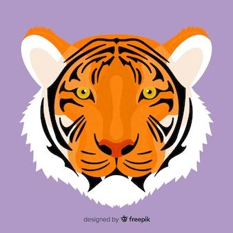 Großer tigergesichthintergrund