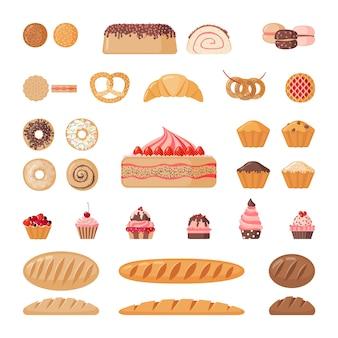 Großes bäckereiset