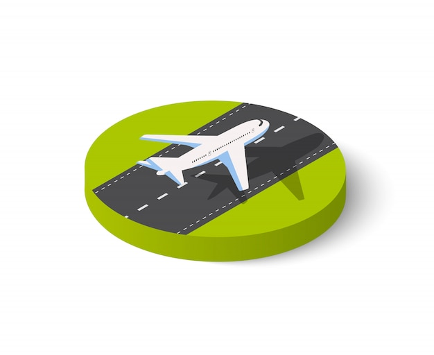 Großes passagierflugzeug