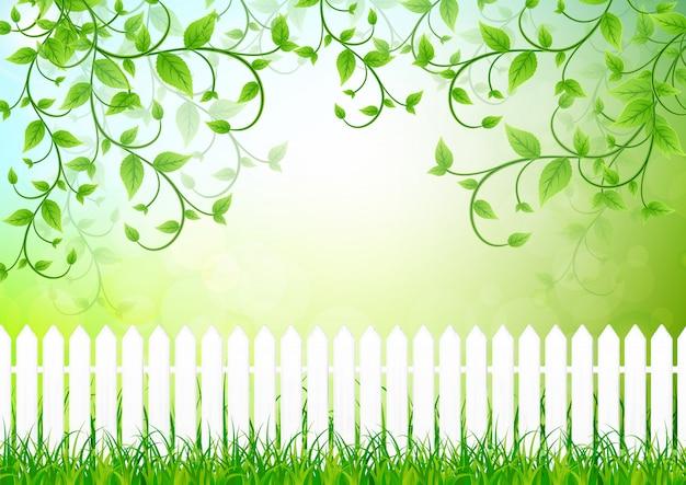Grün lässt hintergrund