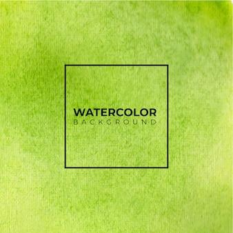 Grüne aquarell-waschtextur. abstrakter hintergrund