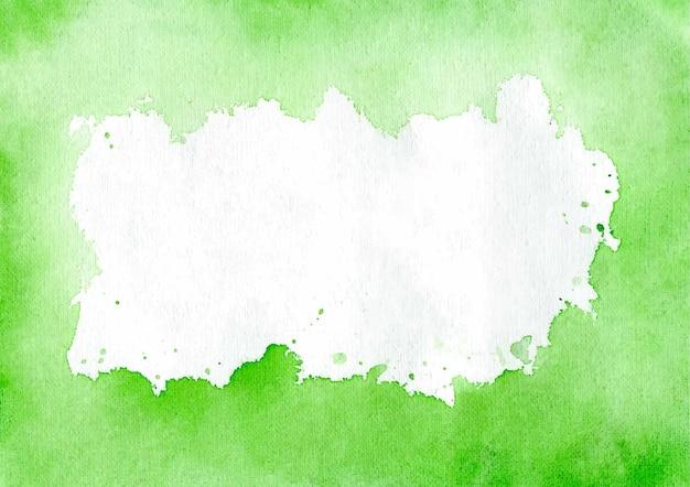 Grüne aquarellbeschaffenheit und zusammenfassung