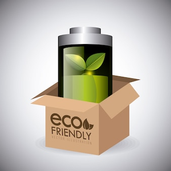 Grüne energie und ökologie