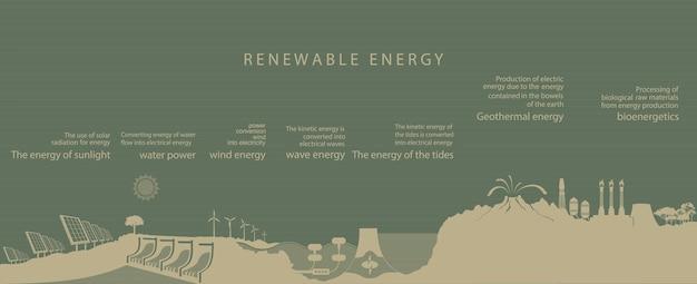 Grüne energie.