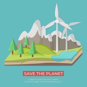 Grüne energiekonzept