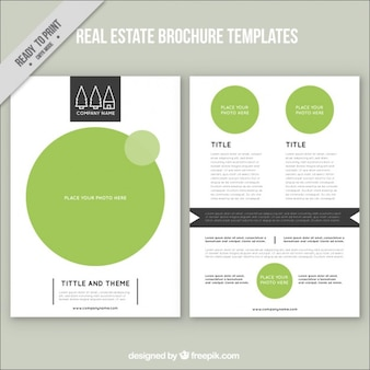 Grüne immobilien broschüre