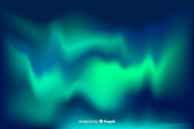 Grüne lichter des nordhimmelhintergrundes