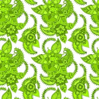 Grüne linie nahtloses design