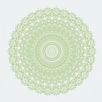 Grüne mandala
