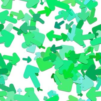 Grüne pfeile muster hintergrund