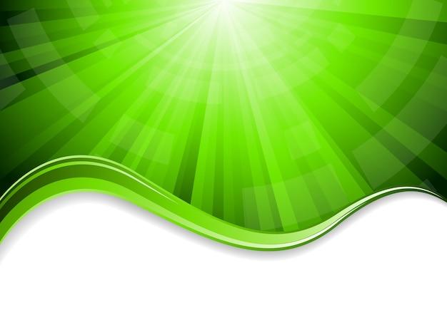 Grüner abstrakter hintergrund der clipart
