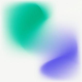 Grüner blauer farbverlaufsunschärfehintergrund