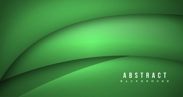 Grüner dynamischer hintergrund