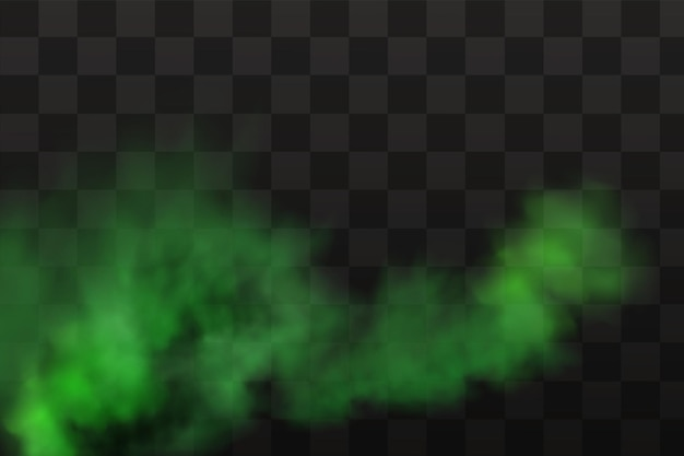 Grüner gestank, schlechter geruch, rauch oder giftgase