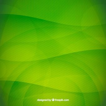 Grüner gewellter hintergrund