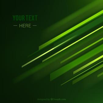 Grüner hintergrund mit linien