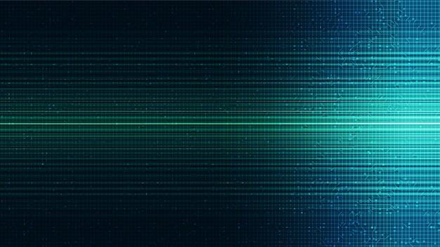 Grüner licht technologie hintergrund