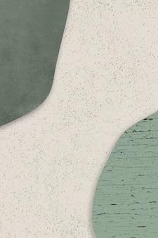 Grüner und beige formenhintergrund
