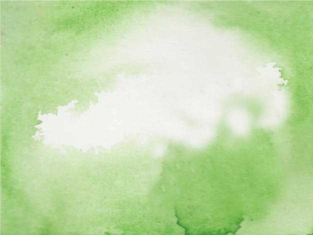 Grüner und heller abstrakter aquarellbeschaffenheitshintergrund,
