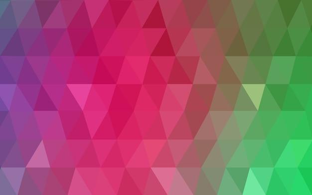 Grüner vektor niedriger polykristallhintergrund