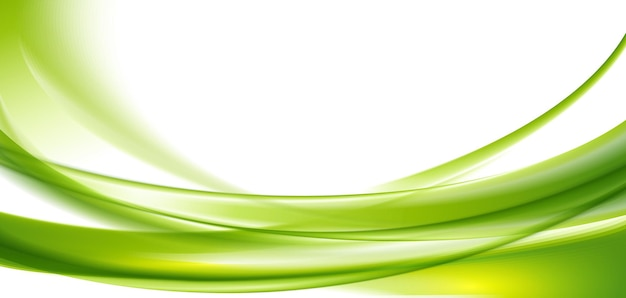 Grüner welliger hintergrund