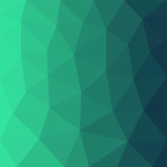 Grünes abstraktes polygonmuster