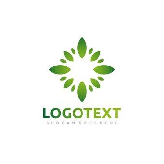Grünes blatt logo