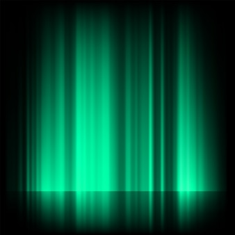 Grünes blaues nordlicht, aurora borealis.