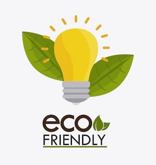 Grünes energiedesign.