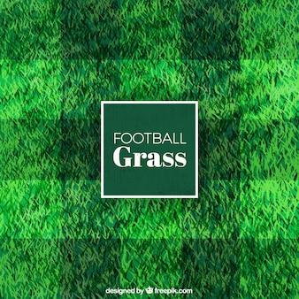 Grünes gras hintergrund mit quadraten