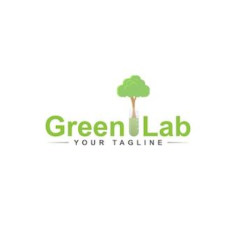 Grünes labellogo