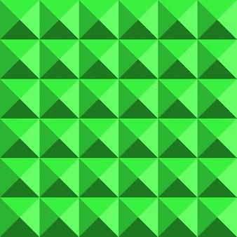 Grünes nahtloses muster der zusammenfassung 80s der struktur 3d