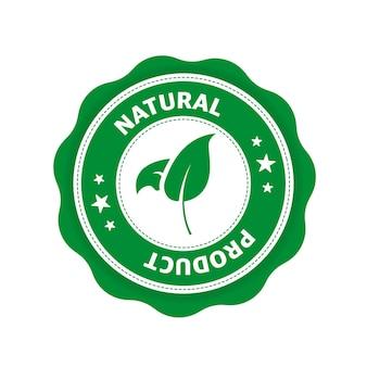 Grünes symbol logo-symbol-label bio-bio-öko-symbol naturprodukt vegetarische gesunde ernährung