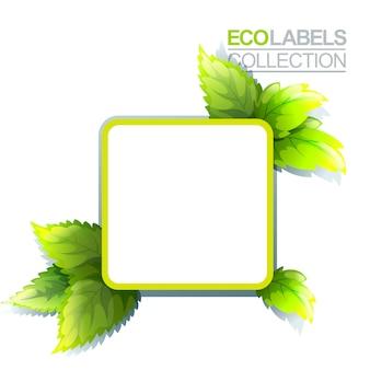 Grünes umweltzeichen