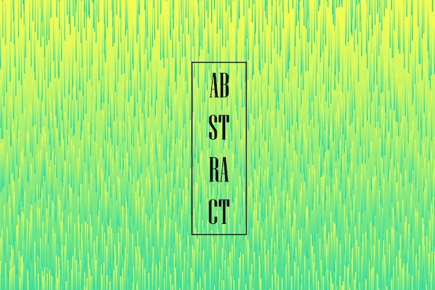 Grünes und gelbes design des abstrakten gradienten des futuristischen abdeckungshintergrunds.