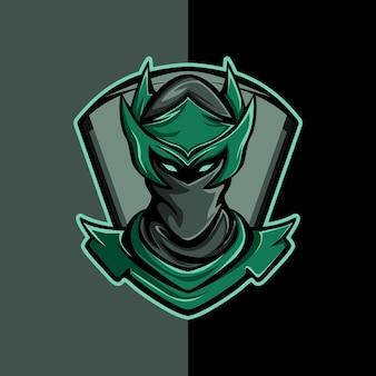 Grünlicher ninja