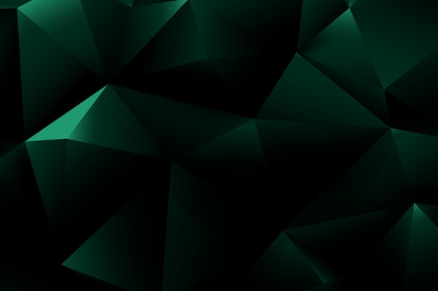 Grundlegende geometrie und polygonform des abstrakten hintergrundes