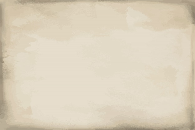 Grunge beige papier aquarell textur, hintergrund, oberfläche