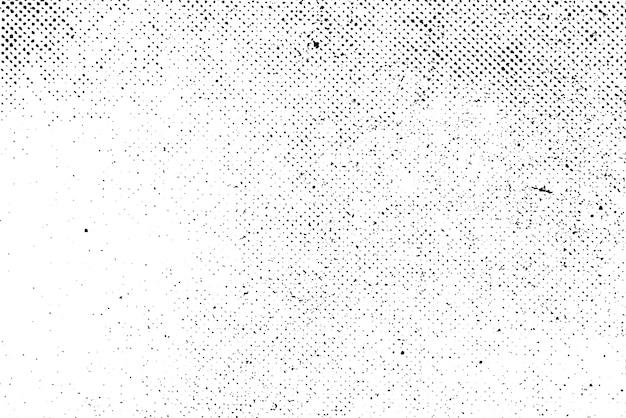 Grunge echte organische vintage halbton vektor tinte druck hintergrund