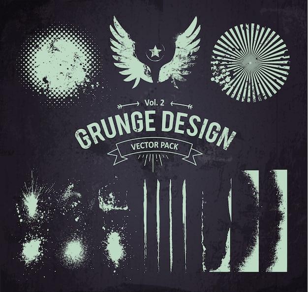 Grunge-elemente